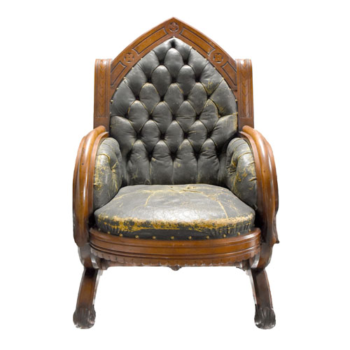Front View of Chair