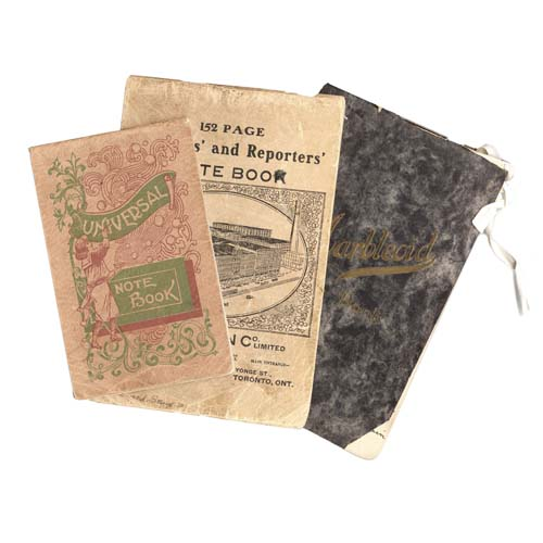 Covers of Diaries