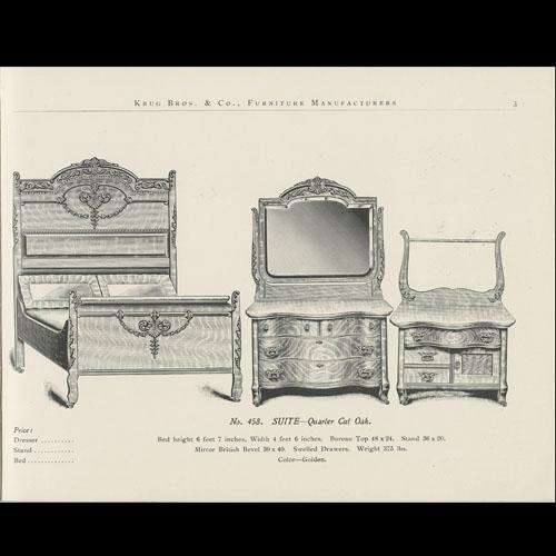 Krug Bros. Co. Ltd. Catalogue Page