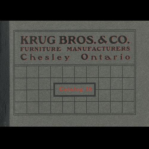 Krug Bros. Co. Ltd. Catalogue cover