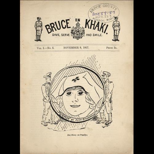 Cover of Bruce in Khaki