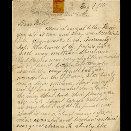 Tranter Letter
