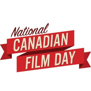 Natinoal Canadian Film Day logo