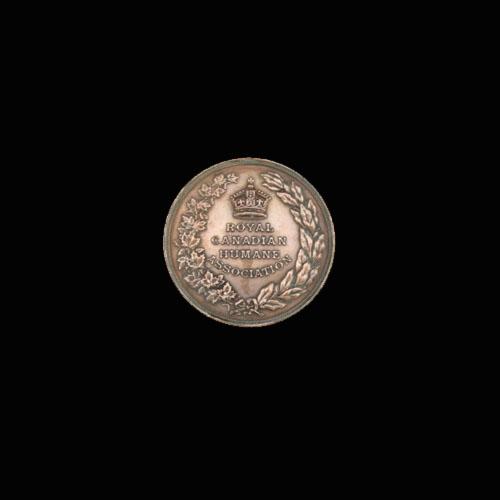 Obverse of Lifesaving Medal