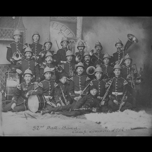 32nd Bruce Battalion Band