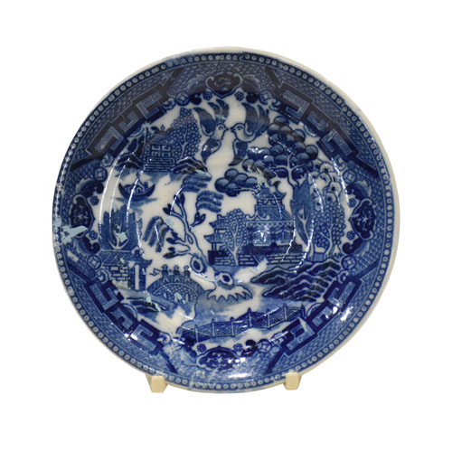 Blue Willow Pattern Plate