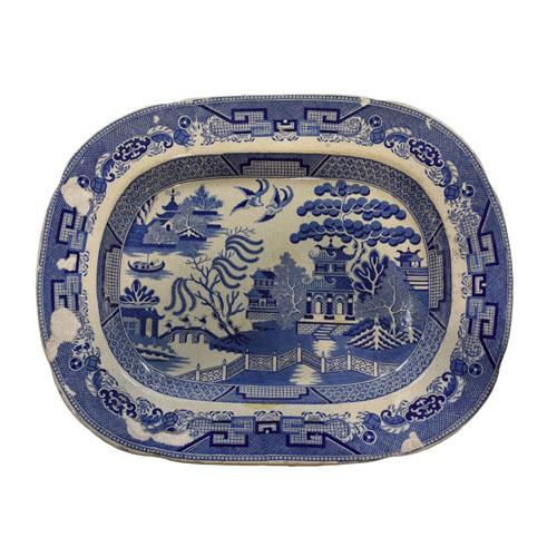 Blue Willow Pattern Platter