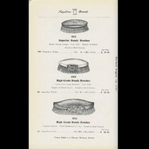 Interior Page of Catalogue