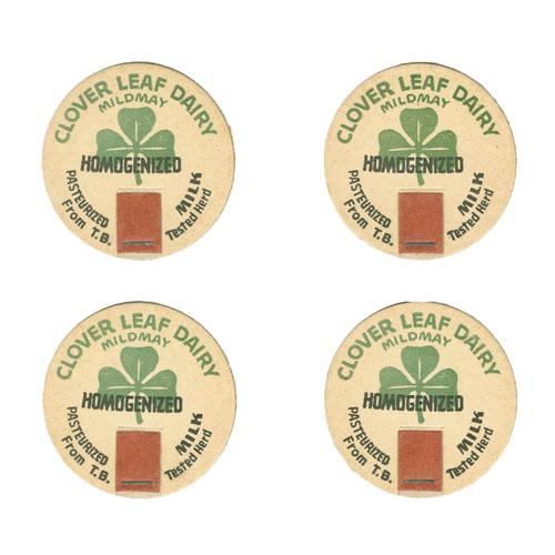 Clover Leaf Dairy Milk Caps