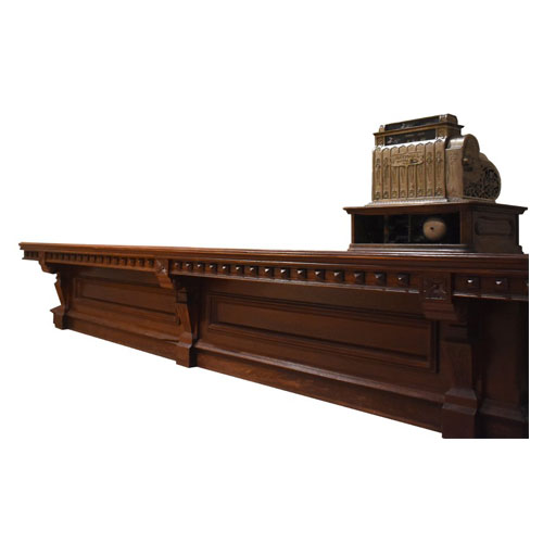 Store counter from Edward Fox