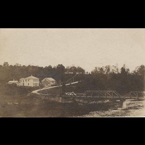 View of Denny's Bridge