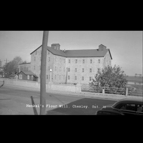 Henkel's Flour Mill, Chesley