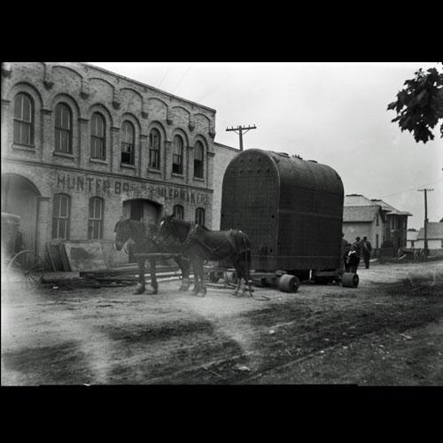 Boiler outside of Hunter Bridge & Boiler
