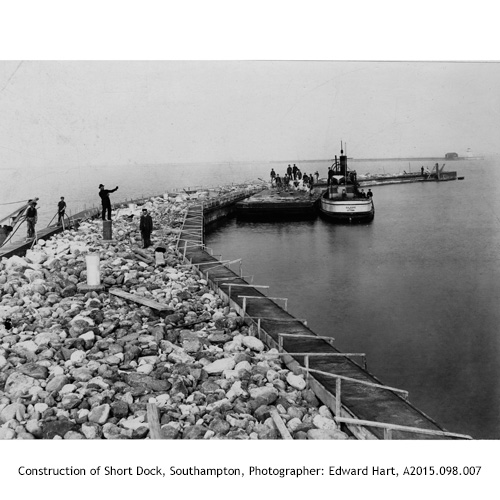 Construction of Short Dock