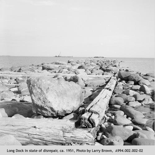 Long Dock in Disrepair