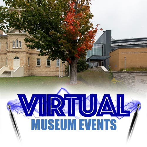 Image of Museum with Virtual Museum Events written