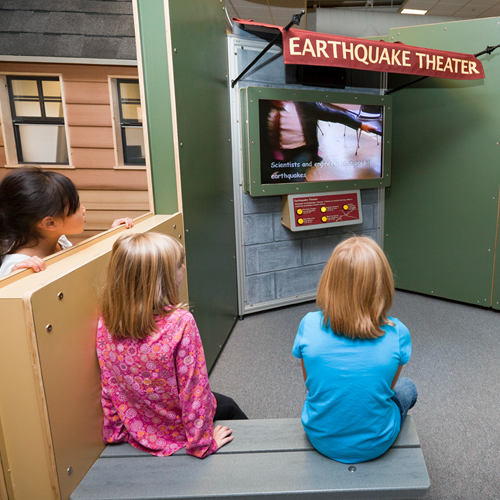 image of people interacting with exhibit