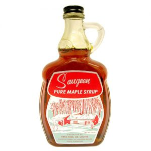Saugeen Maple Syrup Bottle